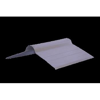 Ridge Rolltop Galvanised 3600x400x04mm