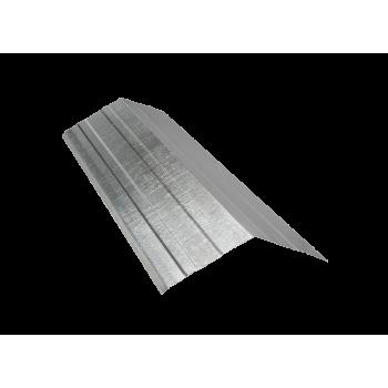 Ridge Ibr Galvanised 1800x400x04mm