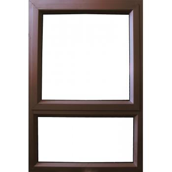 Window Frame Aluminium Pt69 Bronze Clear