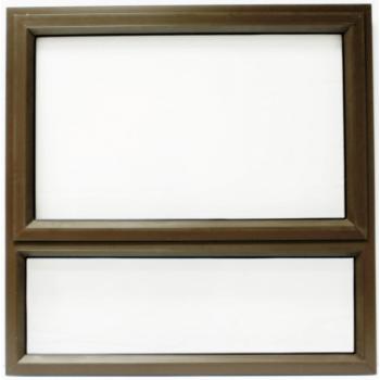 Window Frame Aluminium Pt99 Bronze Clear