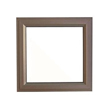 Window Frame Aluminium Pt66 Bronze Clear