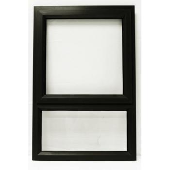 Window Frame Aluminiumin Pt69 Charcoal Clear