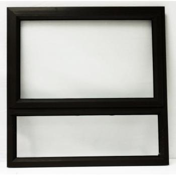 Window Frame Aluminiumin Pt99 Charcoal Clear