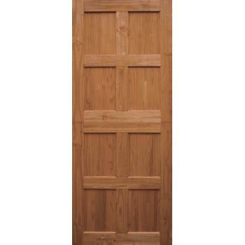 Wooden Door 8 Panel Mixed Timber Stable