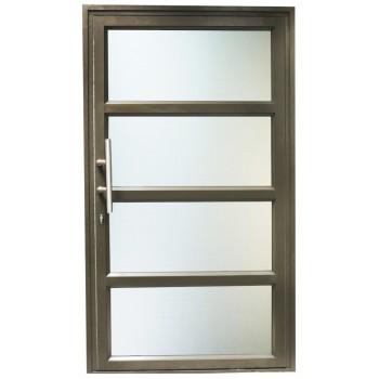 Door Aluminium Pivot 1200 X 2090 Horizontal Br