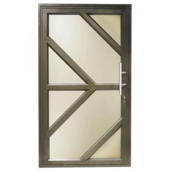 Door Aluminium Pivot 1200 X 2090 Arrow Br