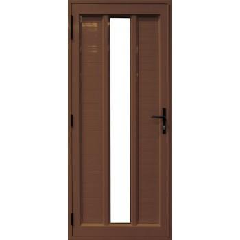 Door Aluminium Hinge 2 Hor/ 1 Ver Glass Brz