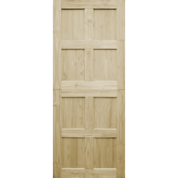 Door Pine Stable 8 Panel Stained