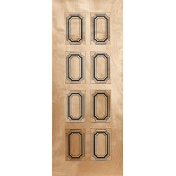 Wooden Door Hardwood San Martino