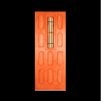 Wooden Door Hardwood San Martino Half Security