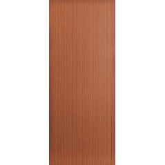 Wooden Door Print Hardboard Exposed Edges