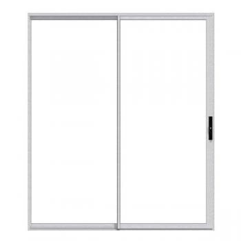 Sliding Door Aluminium In Nat 1.5m