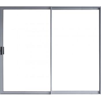 Sliding Door Aluminium In Nat 2.4m