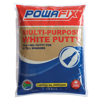 Powafix White Putty Packet