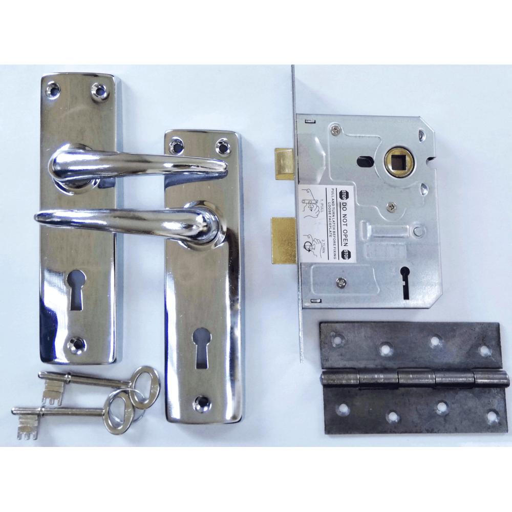 2 Lever Sabs Mortise Handle Lockset With Hinge