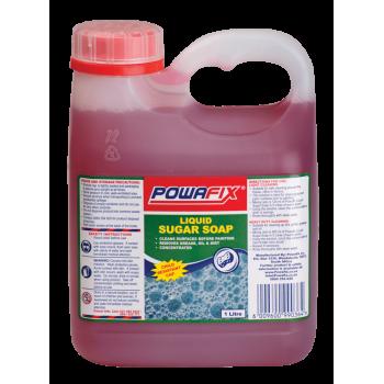 Powafix Sugar Soap Liquid Concentrate 1l