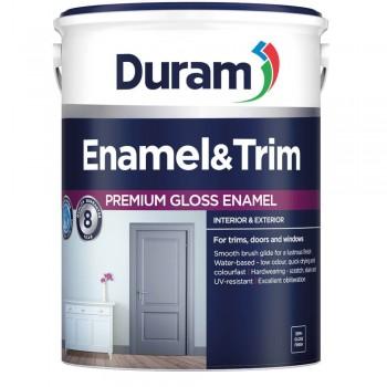 Duram Enamel & Trim Dark Brown 5l
