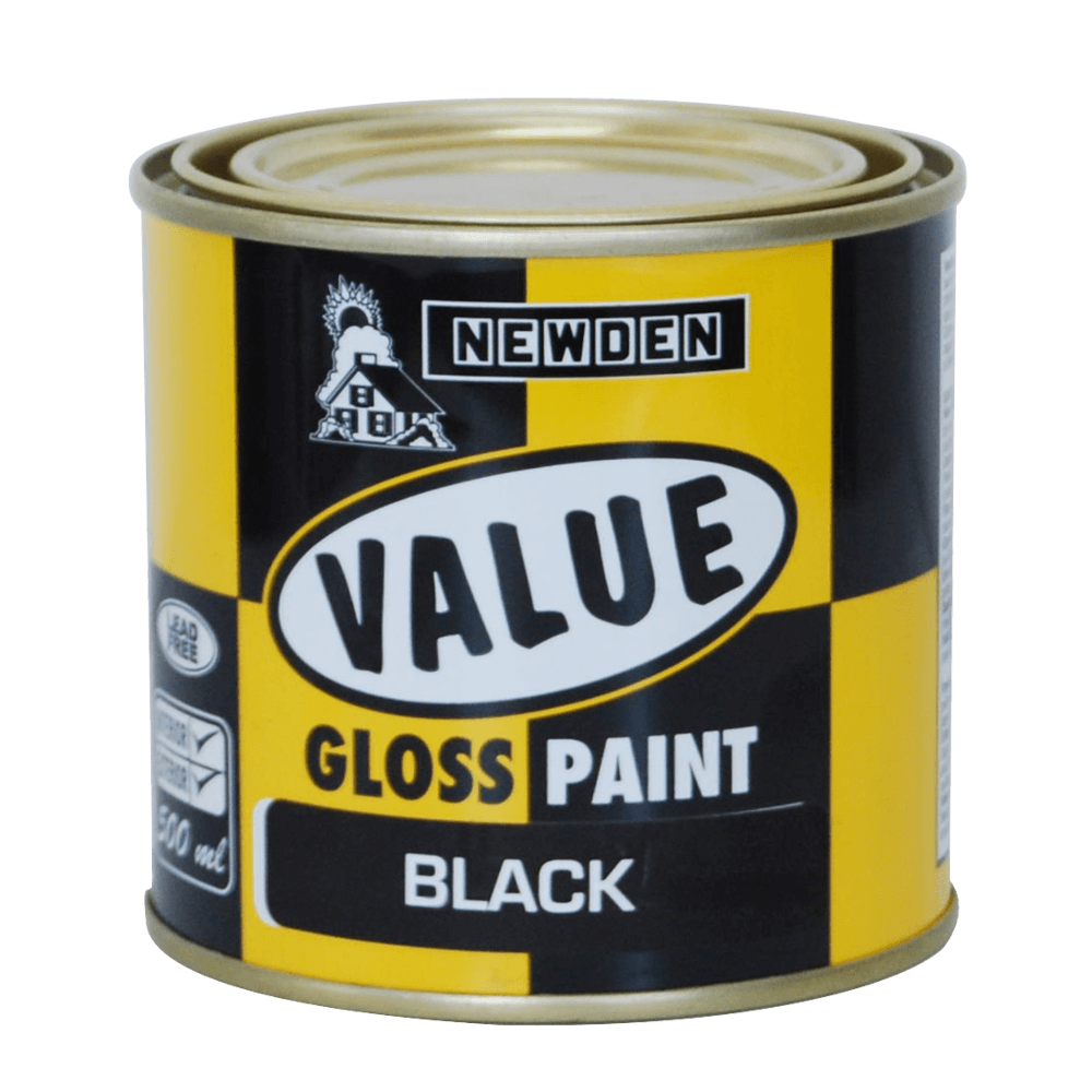 Newden Value Gloss Enamel White 500ml
