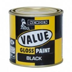 Newden Value Gloss Enamel Black 500ml