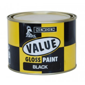 Newden Value Gloss Enamel Black 1l