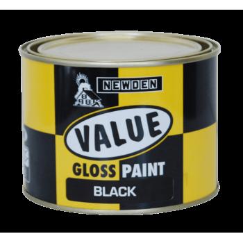Newden Value Gloss Enamel Dark Golden Brown 1lt