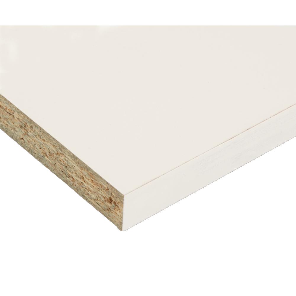 Shelf Melamine White 600x2.750