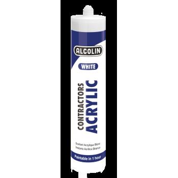 Alcolin Contractor Acrylic Sealant White 260ml