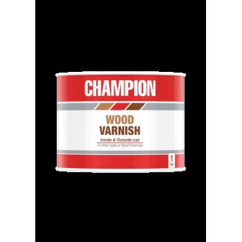 Champion Wood Varnish Clear 1l