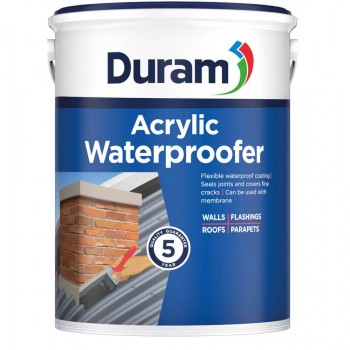 Duram Acrylic Water Proofer Burgundy 5l